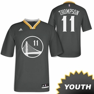 Klay Thompson Youth Jersey: adidas Slate Swingman #11 Golden State Warriors NBA Jersey