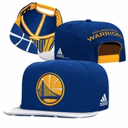 Golden State Warriors adidas 2015 NBA Draft Snapback Cap - Blue