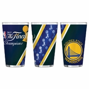 Golden State Warriors Boelter Finals Champs 16 oz. Sublimated Pint