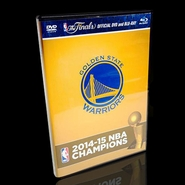 Golden State Warriors 2015 NBA Finals Champions Blu-Ray DVD Combo Pack