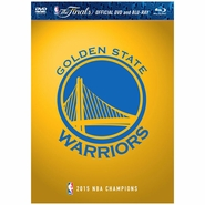 Golden State Warriors 2015 NBA Finals Champions Blu-Ray DVD Combo Pack - Will Ship 7/31