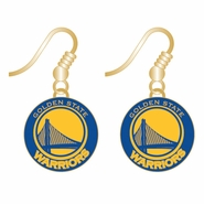 Golden State Warriors Primary Logo Dangler Earrings