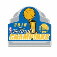 Golden State Warriors Wincraft NBA Championship Collector Pin