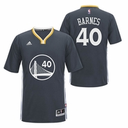 Harrison Barnes Jersey: adidas Slate Swingman #40 Golden State Warriors Jersey