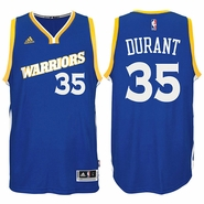 Kevin Durant Jersey: adidas Stretch Crossover #35 Golden State Warriors Royal NBA Swingman Jersey