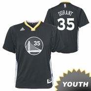 Kevin Durant Youth Jersey: adidas Alternate Swingman #35 Golden State Warriors NBA Jersey - Slate