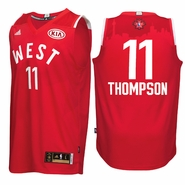 Klay Thompson Jersey: adidas 2016 NBA All-Star #11 Western Conference Swingman Jersey - Red