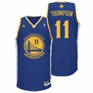 Klay Thompson Jersey: adidas Revolution 30 Royal Blue Swingman #11 Golden State Warriors NBA Jersey