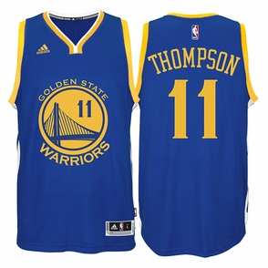 Klay Thompson Jersey: adidas  Royal Blue Swingman #11 Golden State Warriors NBA Jersey - Click to enlarge