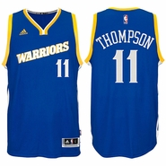 Klay Thompson Jersey: adidas Stretch Crossover #11 Golden State Warriors Royal NBA Swingman Jersey