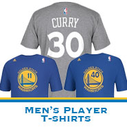 Golden State Warriors Men's Player Name & Number Tees