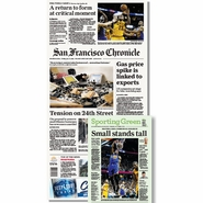San Francisco Chronicle 6/12/2015 Issue: NBA Finals Game 4 Win