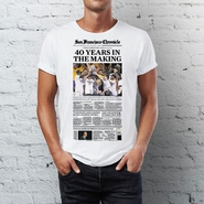 "San Francisco Chronicle Warriors Conference Finals ""40 Years"" T-shirt"