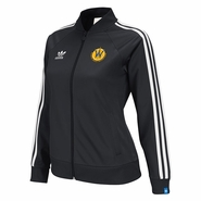 Santa Cruz Warriors adidas Ladies Originals Track Jacket - Black