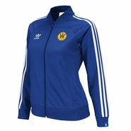 Santa Cruz Warriors adidas Ladies Originals Track Jacket - Royal