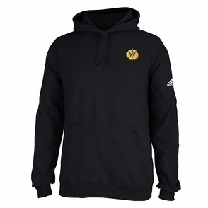 Santa Cruz Warriors adidas Primary Logo Pullover Hoodie - Black - Click to enlarge