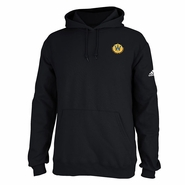 Santa Cruz Warriors adidas Primary Logo Pullover Hoodie - Black