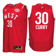 Stephen Curry Jersey: adidas 2016 NBA All-Star #30 Western Conference Swingman Jersey - Red