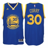 Stephen Curry Jersey: adidas  Royal Blue Swingman #30 Golden State Warriors NBA Jersey
