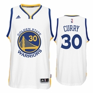 Stephen Curry Jersey: adidas  White Swingman #30 Golden State Warriors NBA Jersey