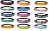 100 Leather Softball Seam Stitched Headbands - 100 Pack