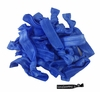 20 Pack Hair Ties Blue