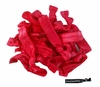 20 Pack Hair Ties Red