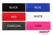 "3"" Cotton Headbands 100 Pack You Pick Your Colors"