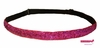 Adjustable Glitter Headband Pink