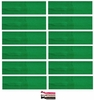 Cotton Headbands 12 Pack Green