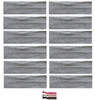 Cotton Headbands 12 Pack Light Grey