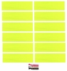 Cotton Headbands 12 Pack Neon Yellow