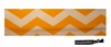 Cotton Stretch Headband Chevron Yellow