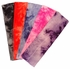 Cotton Stretch Headbands Tie Dye Hot Pink