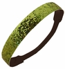 Glitter Headband Lime Green