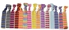 Hair Ties 10 Pack Chevron Assorted