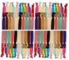 Hair Ties 100 Pack Solid Colors
