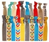 Hair Ties 20 Pack Bright Chevron