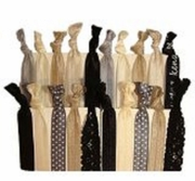 Hair Ties 20 Pack Evening Lace
