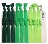 Hair Ties 20 Pack Green Ombre