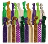 Hair Ties 20 Pack Mardi Gras