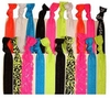 Hair Ties 20 Pack Neon Lace Floral Damask