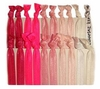 Hair Ties 20 Pack Pink Ombre