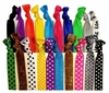 Hair Ties 20 Pack Polka Dot Party