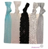 Hair Ties 5 Pack Bridal Lace