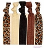 Hair Ties 5 Pack Cheetah