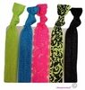 Hair Ties 5 Pack Neon Bliss