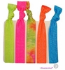Hair Ties 5 Pack Neon Tie Dye