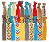 Hair Ties Ponytail Holders - 20 Pack Aztec Chevron by Kenz Laurenz
