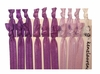 Purple Ombre 20 Pack Hair Ties